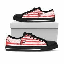 NCAA Fairfield Stags Low Top Shoes