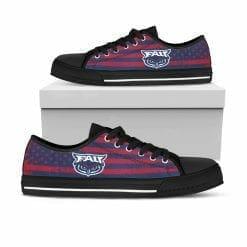NCAA FAU Owls Low Top Shoes