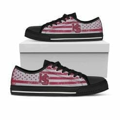 NCAA Hampden-Sydney College Tigers Low Top Shoes