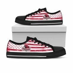 NCAA Indiana University Northwest Red Hawks Low Top Shoes