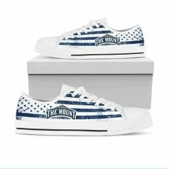 NCAA Mount St. Mary's Mountaineers Low Top Shoes