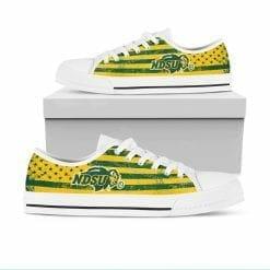 NCAA NDSU Bison Low Top Shoes