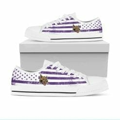 NCAA NYU Violets Low Top Shoes