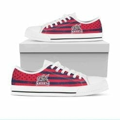 NCAA Queens College Knights Low Top Shoes