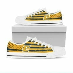 NCAA Tennessee Chattanooga Mocs Low Top Shoes