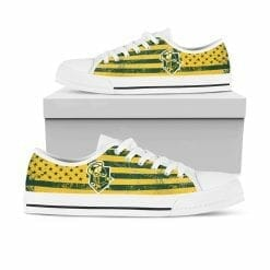NCAA Clarkson Golden Knights Low Top Shoes