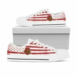 NCAA Cornell Big Red Low Top Shoes