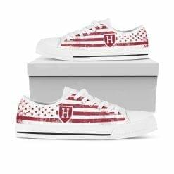 NCAA Harvard Crimson Low Top Shoes