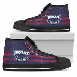 NCAA FAU Owls High Top Shoes
