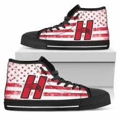NCAA Hartford Hawks High Top Shoes