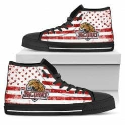 NCAA IUPUI Jaguars High Top Shoes