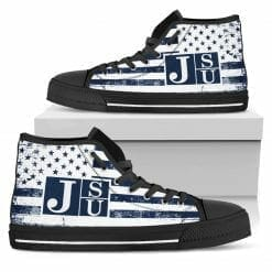 NCAA Jackson State Tigers High Top Shoes