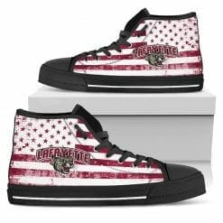 NCAA Lafayette College Leopards High Top Shoes