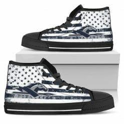 NCAA Longwood Lancers High Top Shoes