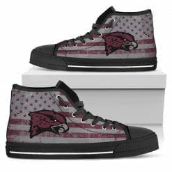 NCAA Maryland Eastern Shore Hawks High Top Shoes