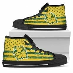 NCAA Missouri Southern State Lions High Top Shoes