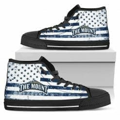 NCAA Mount St. Mary's Mountaineers High Top Shoes