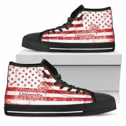 NCAA Pacific Boxers High Top Shoes