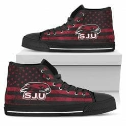 NCAA Saint Joseph's Hawks High Top Shoes