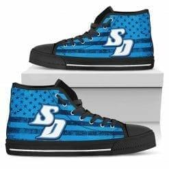 NCAA San Diego Toreros High Top Shoes
