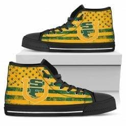NCAA San Francisco Dons High Top Shoes