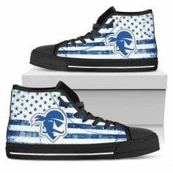 NCAA Seton Hall Pirates High Top Shoes