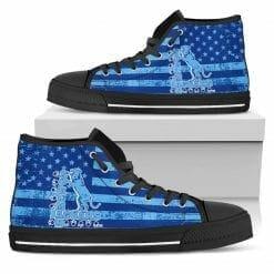 NCAA Spelman College Jaguars High Top Shoes