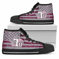 NCAA Texas Southern Tigers High Top Shoes