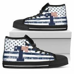 NCAA Texas Tyler Patriots High Top Shoes