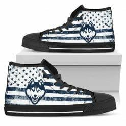 NCAA UConn Huskies High Top Shoes