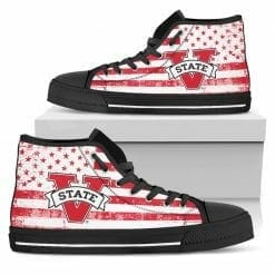 NCAA Valdosta State Blazers High Top Shoes