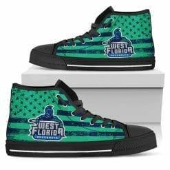 NCAA West Florida Argonauts High Top Shoes
