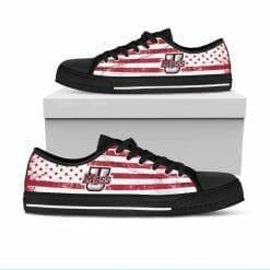 NCAA UMass Minutemen Low Top Shoes