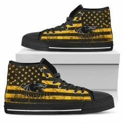 NCAA Wisconsin-Milwaukee Panthers High Top Shoes