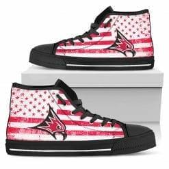 NCAA Wisconsin-River Falls Falcons High Top Shoes