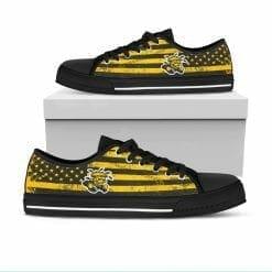 NCAA Wichita State Shocker Low Top Shoes