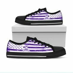 NCAA Winona State Warriors Low Top Shoes