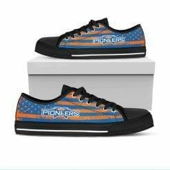 NCAA Wisconsin-Platteville Pioneers Low Top Shoes