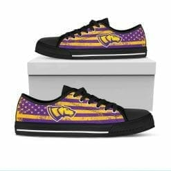 NCAA Wisconsin-Stevens Point Pointers Low Top Shoes