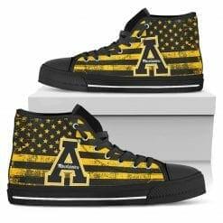 NCAA Appalachian State Mountaineers High Top Shoes