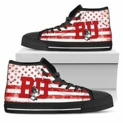 NCAA Boston University High Top Shoes