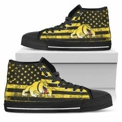 NCAA Bowie State Bulldogs High Top Shoes