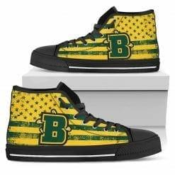 NCAA Brockport Golden Eagles High Top Shoes