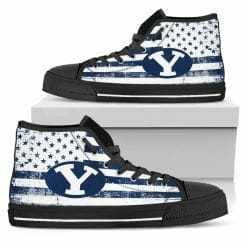 NCAA BYU Cougars High Top Shoes