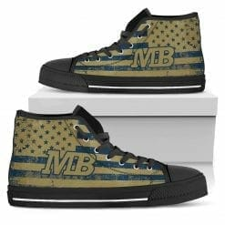 NCAA Cal State Monterey Bay Otters High Top Shoes