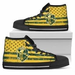 NCAA Clarkson Golden Knights High Top Shoes