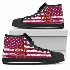NCAA CMU Mavericks High Top Shoes