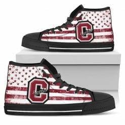 NCAA Colgate Raiders High Top Shoes