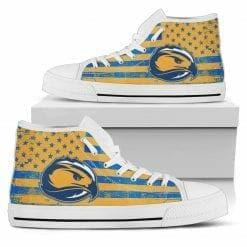 NCAA Fort Lewis College Skyhawks High Top Shoes