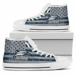 NCAA Georgia Southern Eagles High Top Shoes